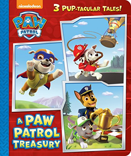 A Paw Patrol Treasury (Paw Patrol) (Board Book)