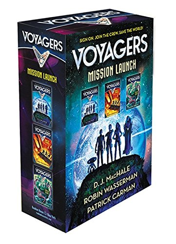 9781101940037: Voyagers Mission Launch boxed set (books 1-3)