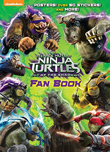 9781101940303: Teenage Mutant Ninja Turtles: Out of the Shadows Fan Book (Teenage Mutant Ninja Turtles: Out of the Shadows)