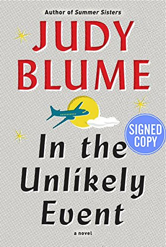 In the Unlikely Event - Autographed Signed: Judy Blume