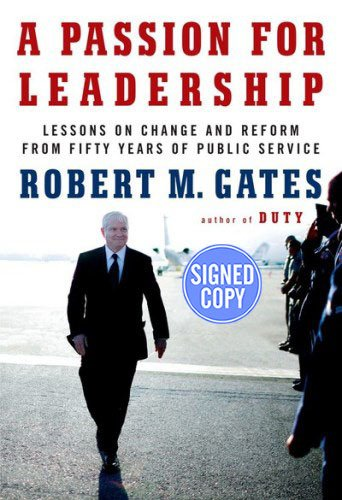 9781101947272: A Passion for Leadership: Lessons on Change and Reform from Fifty Years of Public Service - Autograhed Signed Copy