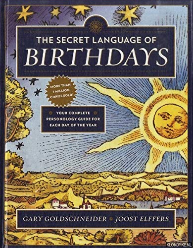 9781101948309: The Secret Language of Birthdays