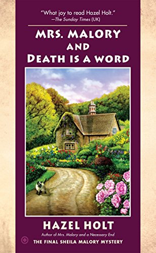 9781101990636: Mrs. Malory and Death Is a Word (Mrs. Malory Mystery)