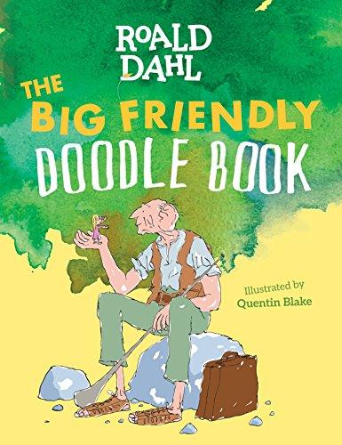 The Big Friendly Doodle Book: Roald Dahl
