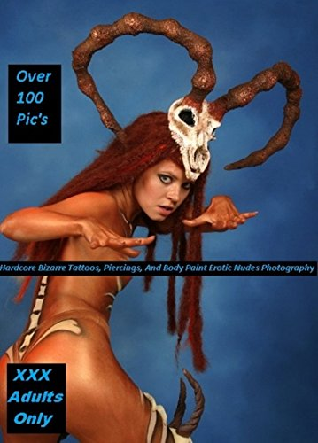 The full erotic nude body painted