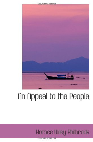 9781103028801: An Appeal to the People