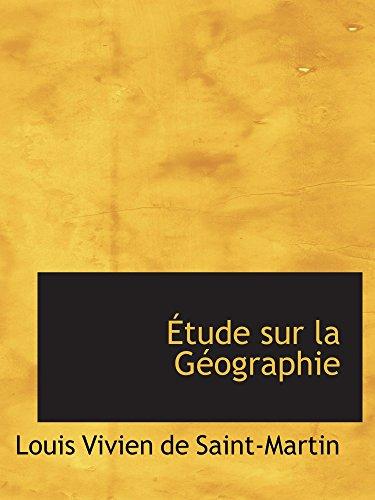 9781103030194: Étude sur la Géographie