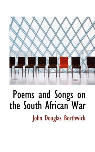 9781103034994: Poems and Songs on the South African War