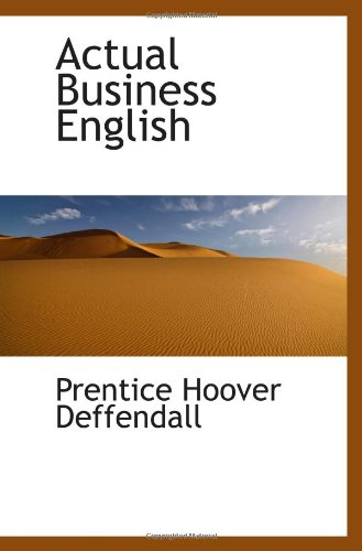 9781103043774: Actual Business English