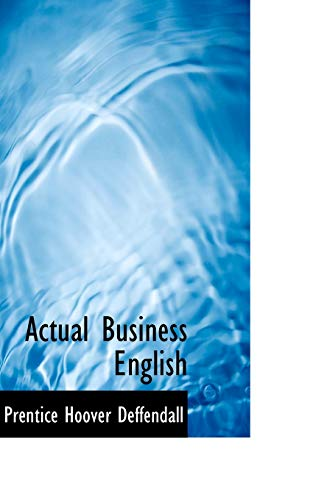 9781103043828: Actual Business English