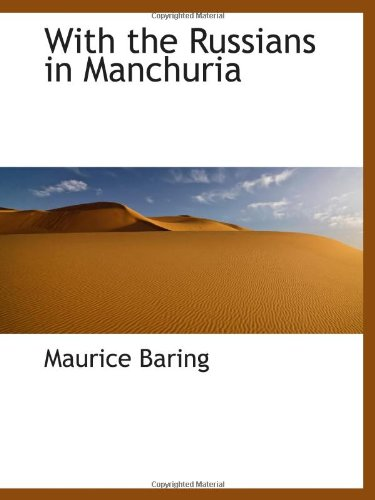 9781103074709: With the Russians in Manchuria