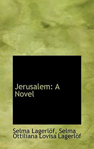 9781103093908: Jerusalem: A Novel
