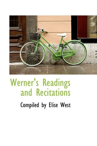 9781103112128: Werner's Readings and Recitations