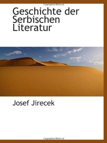 9781103119189: Geschichte der Serbischen Literatur