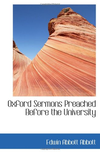 9781103126118: Oxford Sermons Preached Before the University