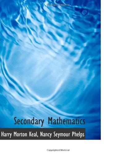 9781103148356: Secondary Mathematics
