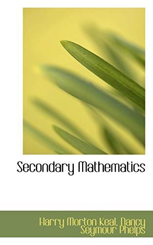 9781103148394: Secondary Mathematics