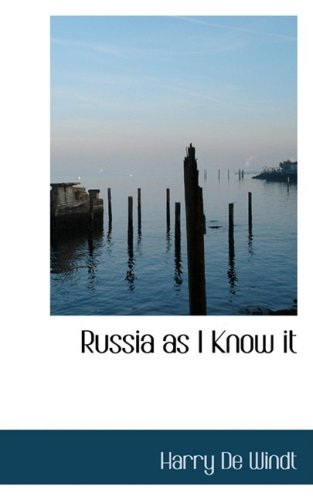 9781103196777: Russia as I Know it