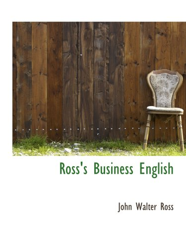 9781103200511: Ross's Business English