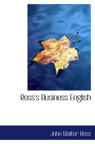 9781103200535: Ross's Business English