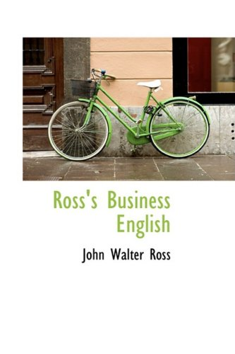 9781103200597: Ross's Business English