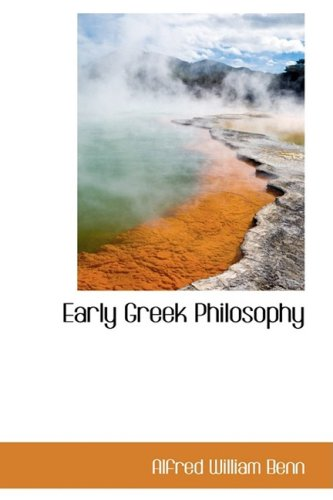 9781103255320: Early Greek Philosophy