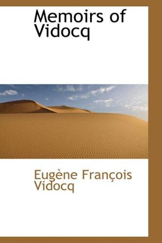 9781103257461: Memoirs of Vidocq