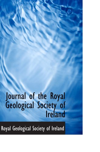 9781103263660: Journal of the Royal Geological Society of Ireland