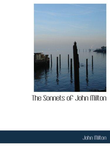 9781103268689: The Sonnets of John Milton