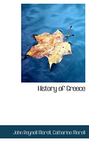 History of Greece: Morell, John Reynell