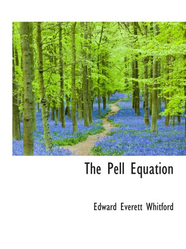 9781103311699: The Pell Equation
