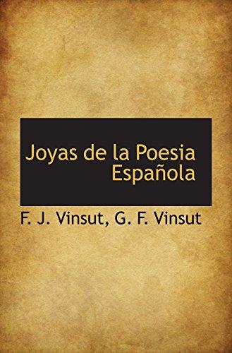 9781103332243: Joyas de la Poesia Española