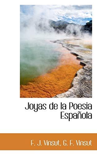9781103332274: Joyas de la Poesia Española