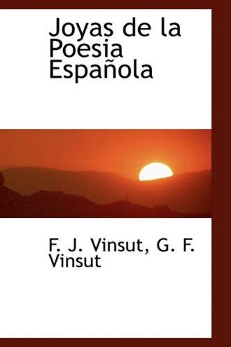 9781103332342: Joyas de la Poesia Española