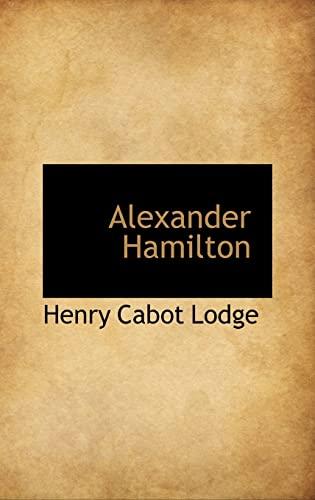 9781103334216: Alexander Hamilton