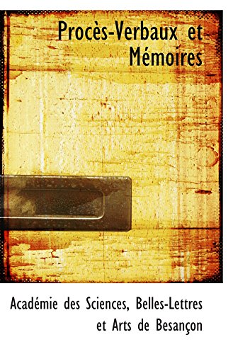 9781103335121: Procès-Verbaux et Mémoires