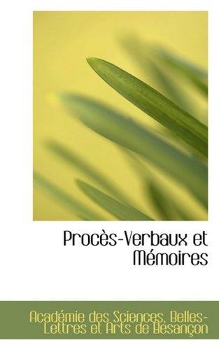 9781103335169: Proc S-Verbaux Et M Moires