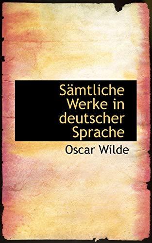 9781103361328: Sämtliche Werke in deutscher Sprache (German Edition)