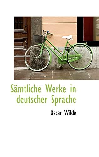 9781103361373: S�mtliche Werke in deutscher Sprache (German Edition)