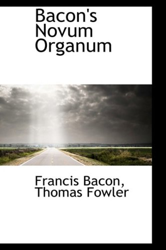 9781103383269: Bacon's Novum Organum