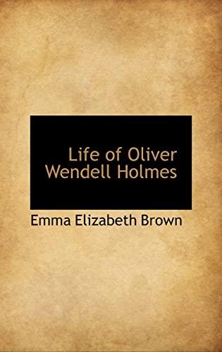 9781103421411: Life of Oliver Wendell Holmes