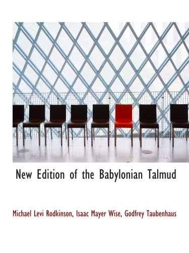 9781103441419: New Edition of the Babylonian Talmud