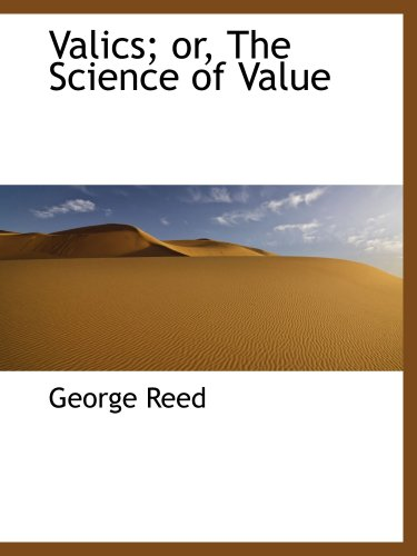 9781103457847: Valics; or, The Science of Value