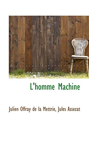 9781103458264: L'homme Machine