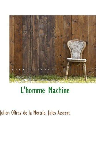 9781103458288: L'homme Machine