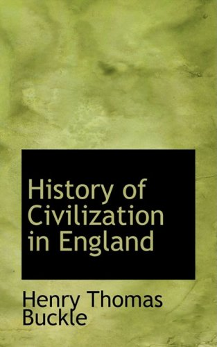 9781103468317: History of Civilization in England