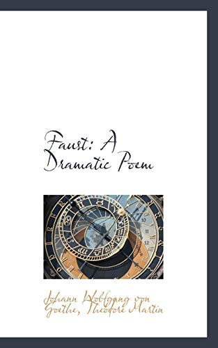9781103480982: Faust: A Dramatic Poem