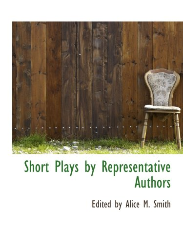 9781103482597: Short Plays by Representative Authors