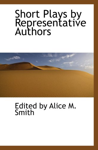9781103482627: Short Plays by Representative Authors