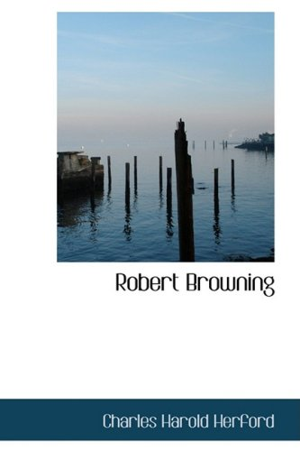 9781103486342: Robert Browning